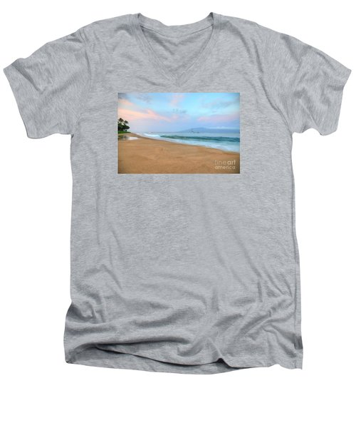 Ka'anapali Delight  Men's V-Neck T-Shirt
