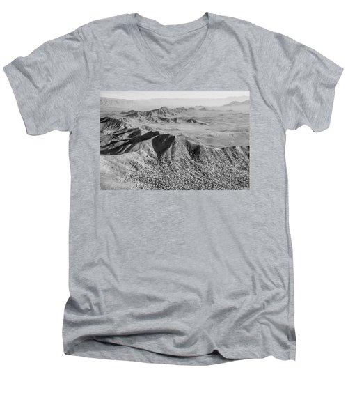 Kabul Mountainous Urban Sprawl Men's V-Neck T-Shirt