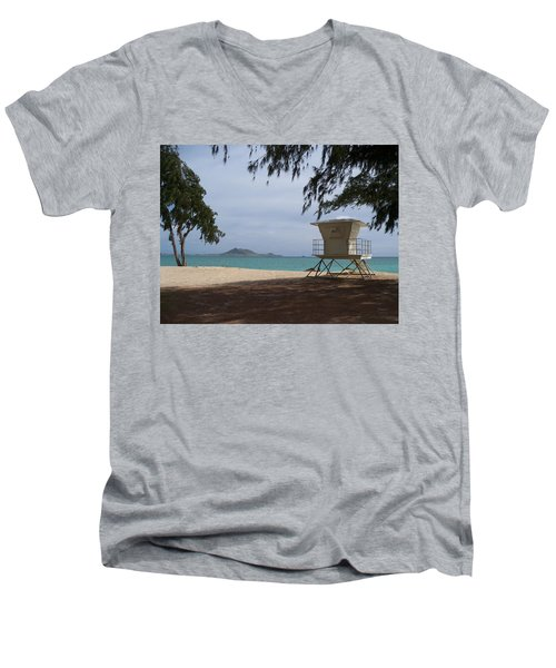 Kailua Beach Men's V-Neck T-Shirt