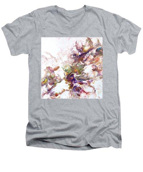 Kaleidescope Of Color Men's V-Neck T-Shirt