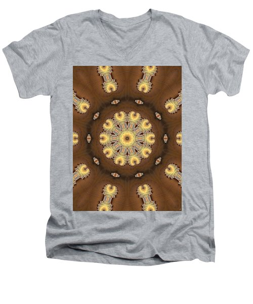 Kaleidoscope 125 Men's V-Neck T-Shirt