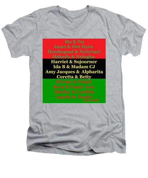 Kandaki Ma 2 Men's V-Neck T-Shirt