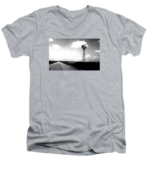 Kansas Men's V-Neck T-Shirt