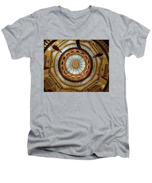 Kansas Dome Men's V-Neck T-Shirt