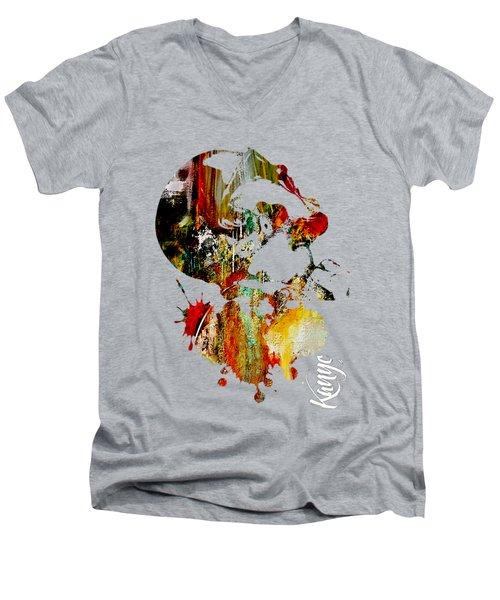 Kanye Men's V-Neck T-Shirt