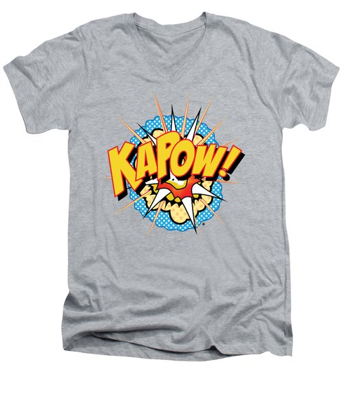 Kapow Men's V-Neck T-Shirt