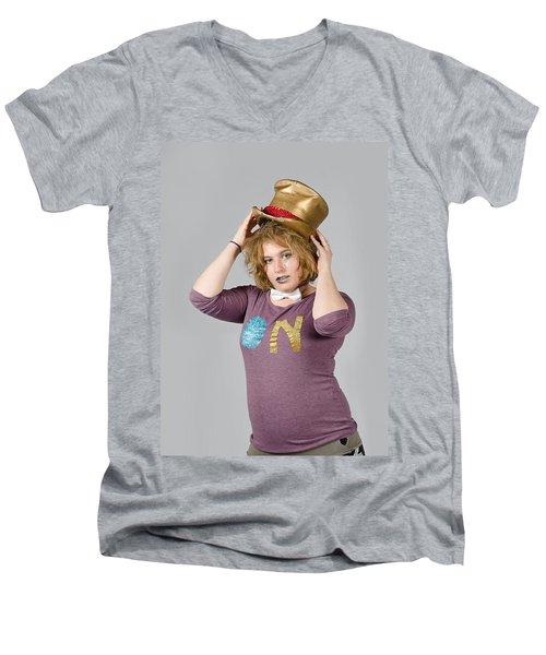 Karen Men's V-Neck T-Shirt