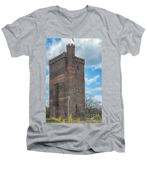 Men's V-Neck T-Shirt featuring the photograph Karnan In Helsingborg by Antony McAulay
