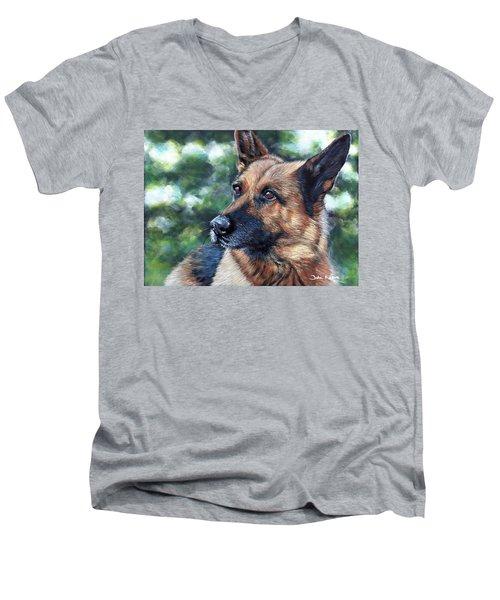 Kasha Men's V-Neck T-Shirt