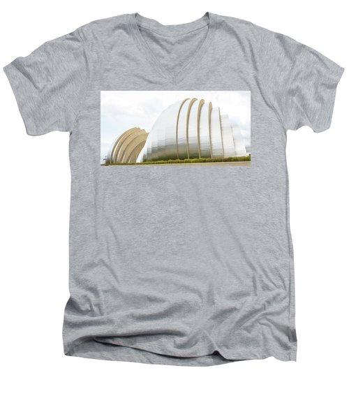 Kauffman Center Performing Arts Men's V-Neck T-Shirt