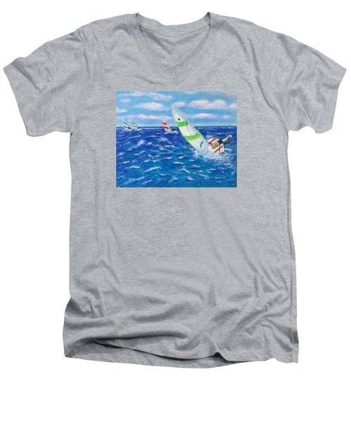 Keeling Men's V-Neck T-Shirt