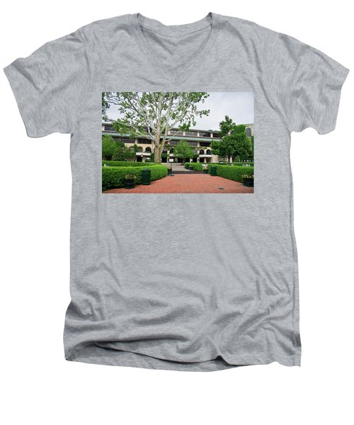 Keeneland Race Track In Lexington Men's V-Neck T-Shirt