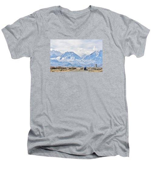 Keep On Trucking Men's V-Neck T-Shirt
