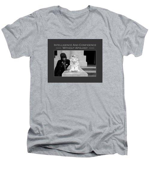 Kellie Peach 7-87 Men's V-Neck T-Shirt