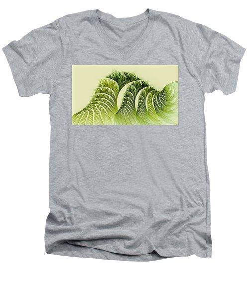 Kelp Towers Of The Fractal Sea Men's V-Neck T-Shirt