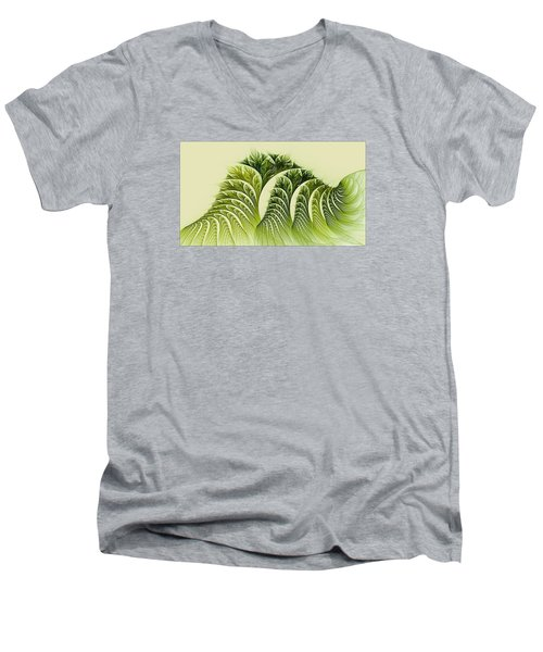 Kelp Towers Of The Fractal Sea Men's V-Neck T-Shirt