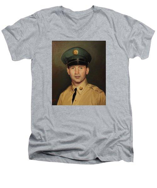 Kenneth Beasley Men's V-Neck T-Shirt
