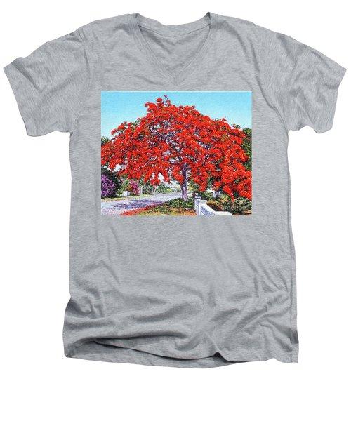 Kent Street - Nassau East Men's V-Neck T-Shirt