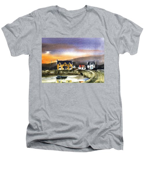Kerry... Beara. Killmakilloge Harbour Men's V-Neck T-Shirt