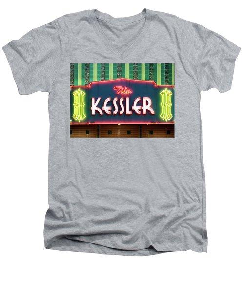 Kessler Theater 042817 Men's V-Neck T-Shirt