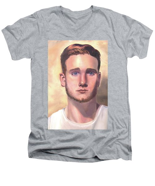 Kevin Men's V-Neck T-Shirt