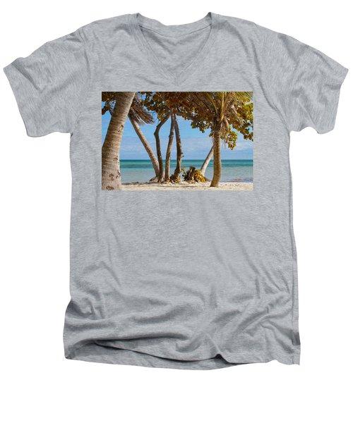 Key West Afternoon Men's V-Neck T-Shirt