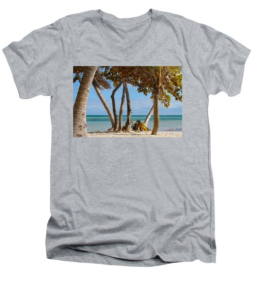 Key West Afternoon Men's V-Neck T-Shirt