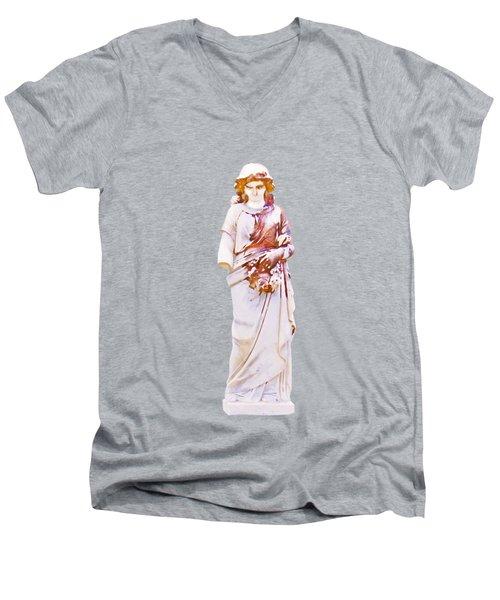 Key West Angel #1 Men's V-Neck T-Shirt