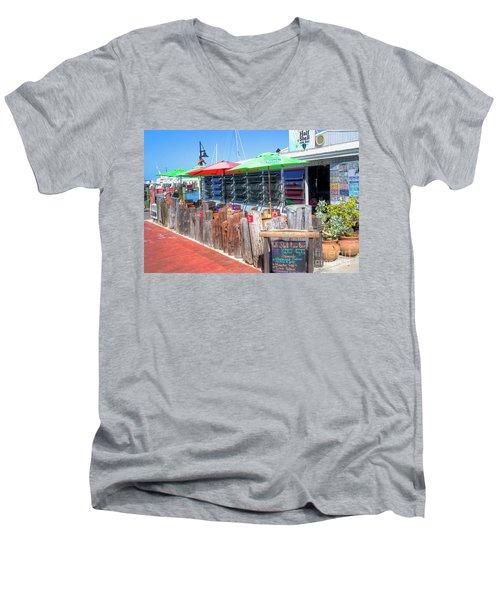 Key West Raw Bar Men's V-Neck T-Shirt