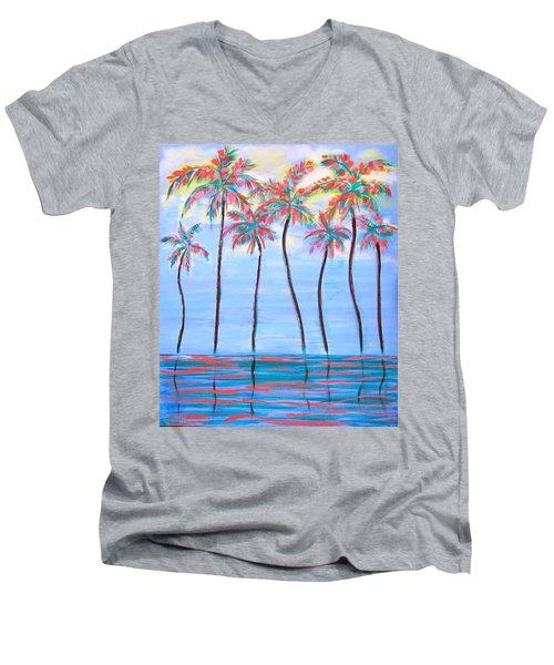 Keys Vision Men's V-Neck T-Shirt