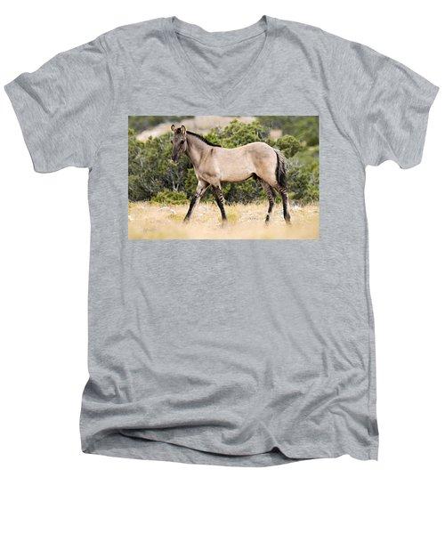 Kiger Colt Men's V-Neck T-Shirt