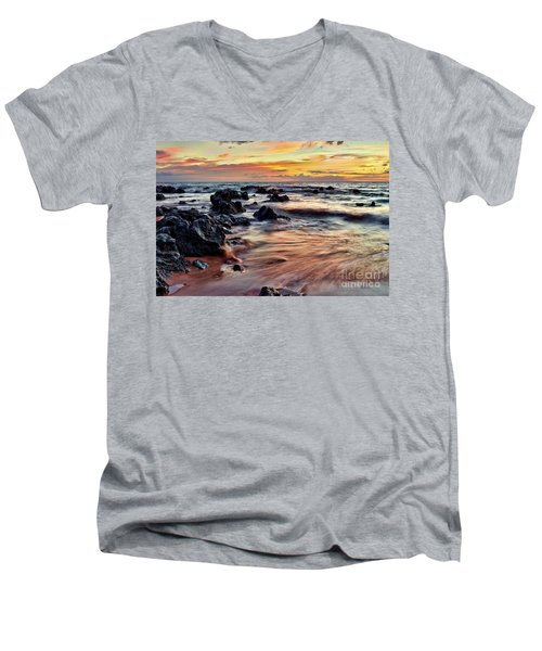 Kihei Sunset Men's V-Neck T-Shirt