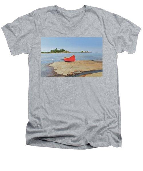 Killarney Canoe Men's V-Neck T-Shirt