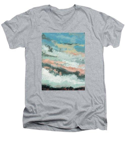 Kindred Men's V-Neck T-Shirt by Nathan Rhoads