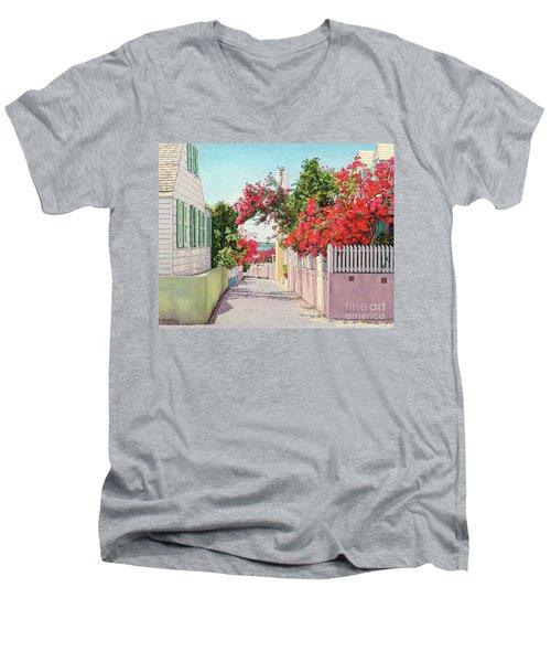 King And Crown Street Men's V-Neck T-Shirt