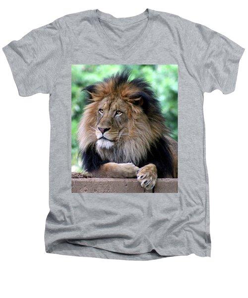 The King's Portrait Men's V-Neck T-Shirt