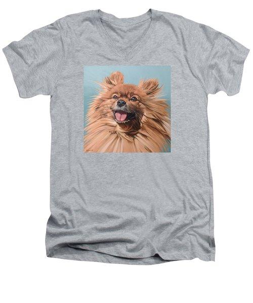 King Louie Men's V-Neck T-Shirt