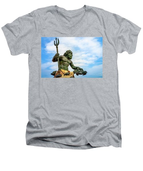 King Neptune Men's V-Neck T-Shirt