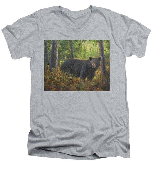 King Of His Domain Men's V-Neck T-Shirt