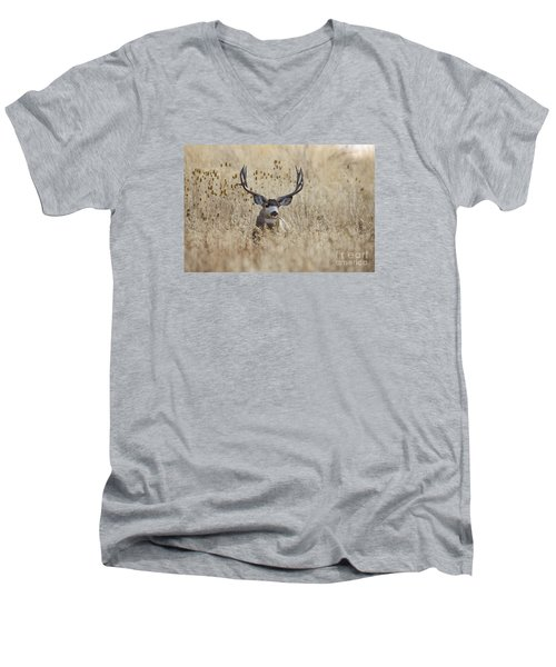 King Of The Marsh Men's V-Neck T-Shirt