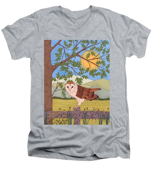 King Of The Meadow Men's V-Neck T-Shirt