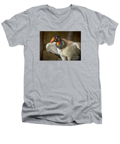 King Vulture Men's V-Neck T-Shirt
