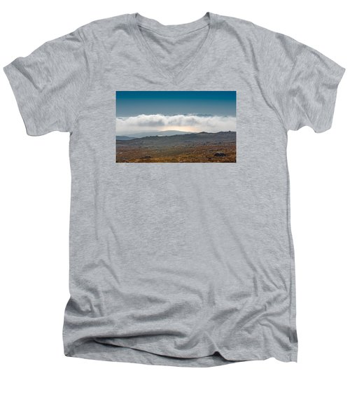 Kingdom In The Sky Men's V-Neck T-Shirt by Gary Eason