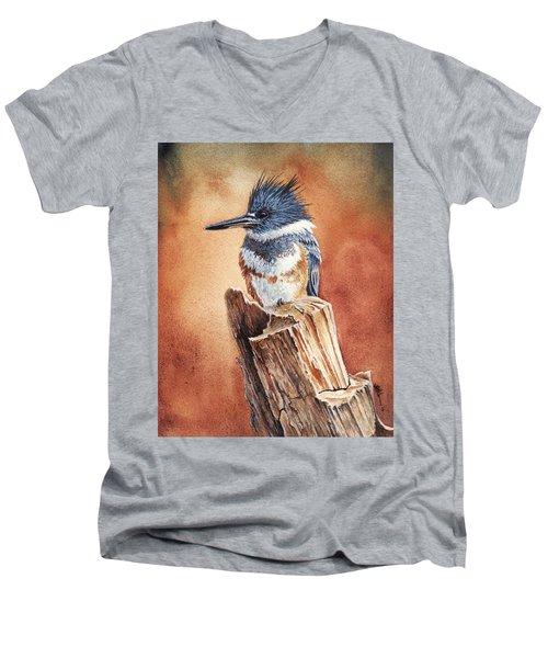 Kingfisher I Men's V-Neck T-Shirt