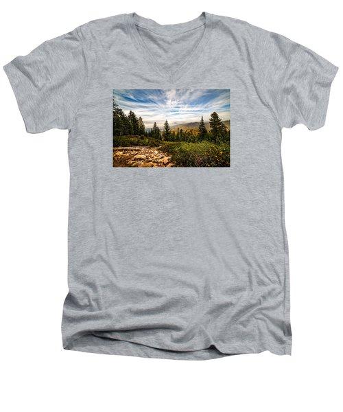 King's Canyon Crown Men's V-Neck T-Shirt