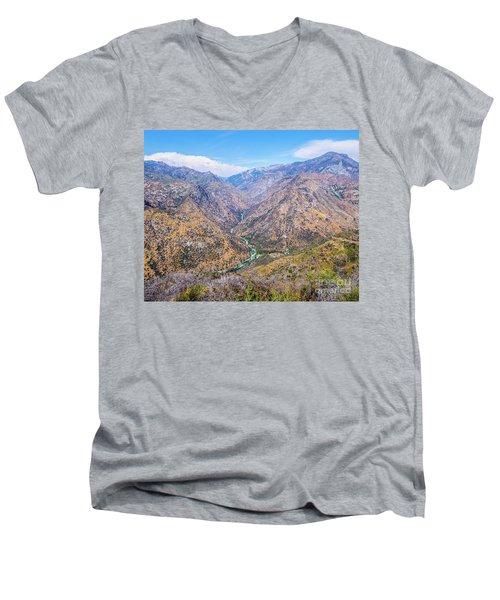 King's Canyon  Men's V-Neck T-Shirt