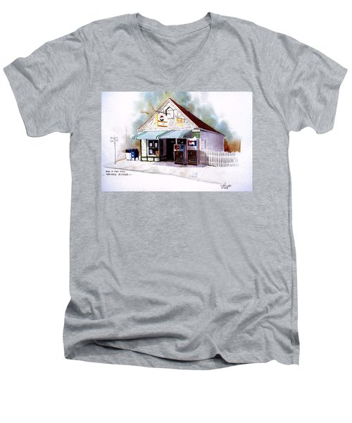 King's Ice Cream Men's V-Neck T-Shirt