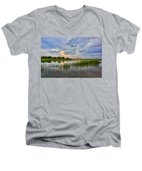 Kings Park Bluffs Men's V-Neck T-Shirt
