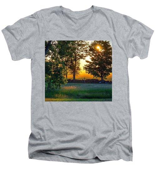 Kingsbury Sunset Men's V-Neck T-Shirt