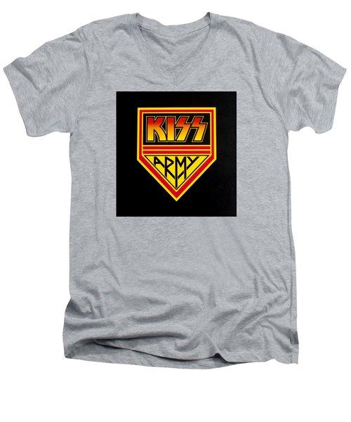 Kiss Army Men's V-Neck T-Shirt